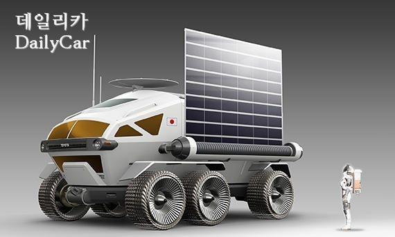 JAXA의 달 탐사 차량 렌더링