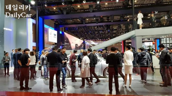 지오메트리 A에 쏠린 관심  @2019 상하이모터쇼