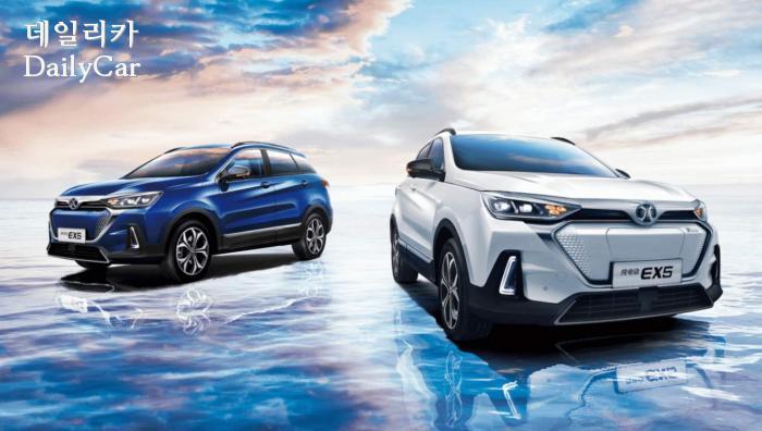 북경자동차그룹(BAIC), 전기 중형 SUV EX5