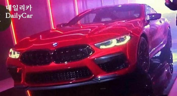 BMW M8 컴페티션 유출
