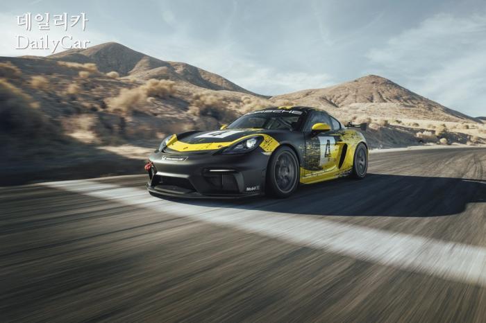 포르쉐 718 카이맨 GT4 클럽스포츠
