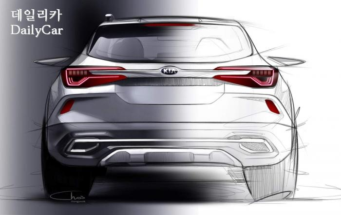 SP (기아차 하이클래스 소형 SUV 렌더링 이미지)