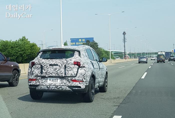 쉐보레, 9BUX 시험주행 차량 (제공 : 데일리카 독자 석현호 님)