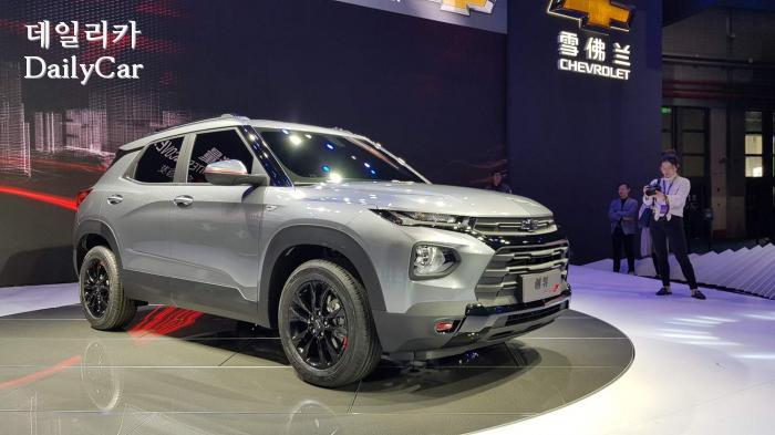 2019 상하이오토쇼 쉐보레 소형 SUV 트레일블레이저