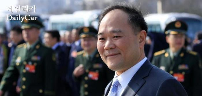 Geely 중국 지리자동차 CEO 리슈푸 (Li Shufu)
