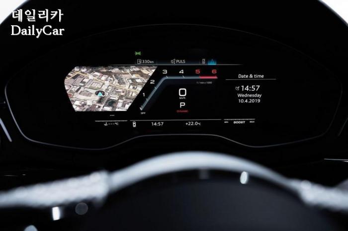 아우디, 2020년형 A4 페이스리프트 (출처 아우디)