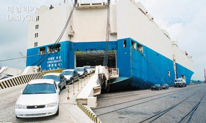 1993년 기아의 첫 독일 수출