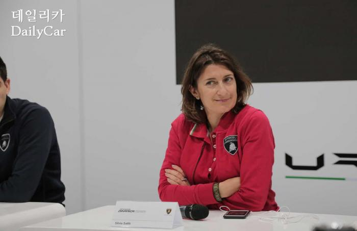 실비아 살리티(Silvia Saliti), 람보르기니 APAC 홍보마케팅 본부장