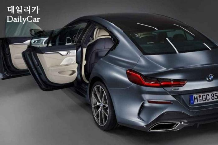 BMW, ′8시리즈 그란 쿠페′ 티저 이미지 (출처 BMW)