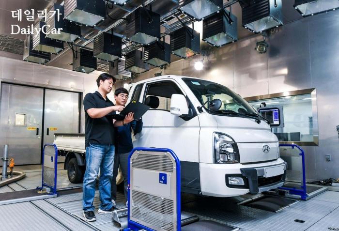 현대기아차, 상용 전기차 성능 제어 기술