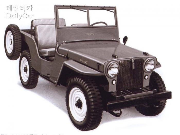 군용 지프를 바탕으로 한 민간용 윌리스 CJ-2A