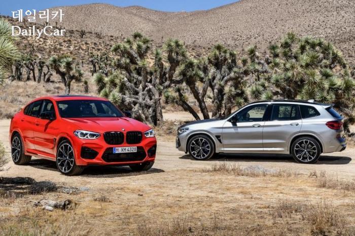 BMW, X3M 및 X4M (출처 BMW)