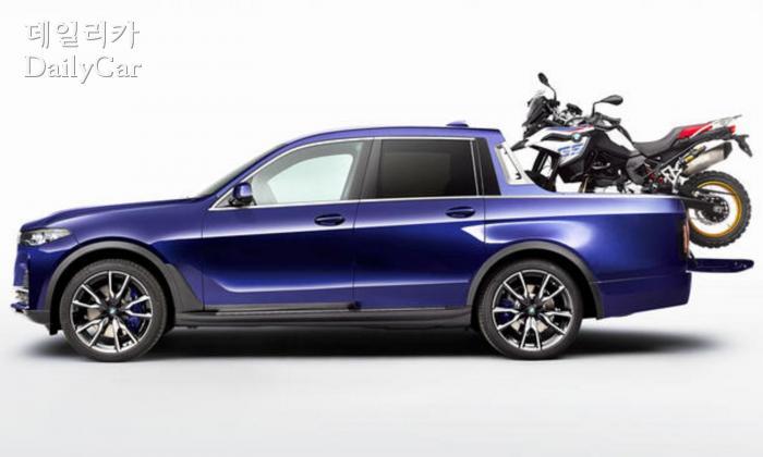BMW X7 픽업트럭 (출처 BMW)