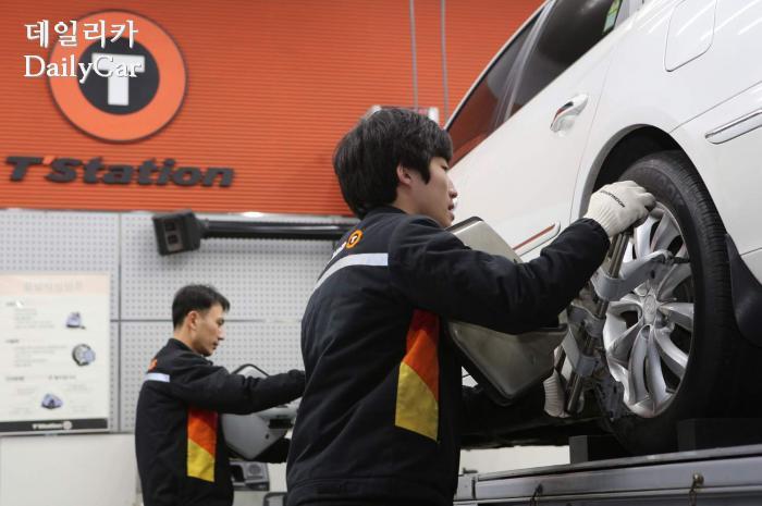 티스테이션, 타이어 안전점검