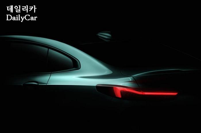 BMW, 2시리즈 그란쿠페 티저 (출처 BMW)