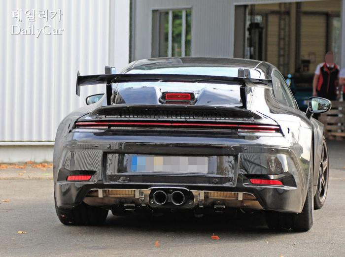 911 GT3 스파이샷 (출처 아우토모토운트스포트)