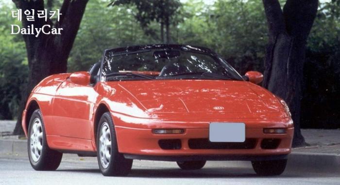 국산화로 개발된 1996년형 기아 엘란
