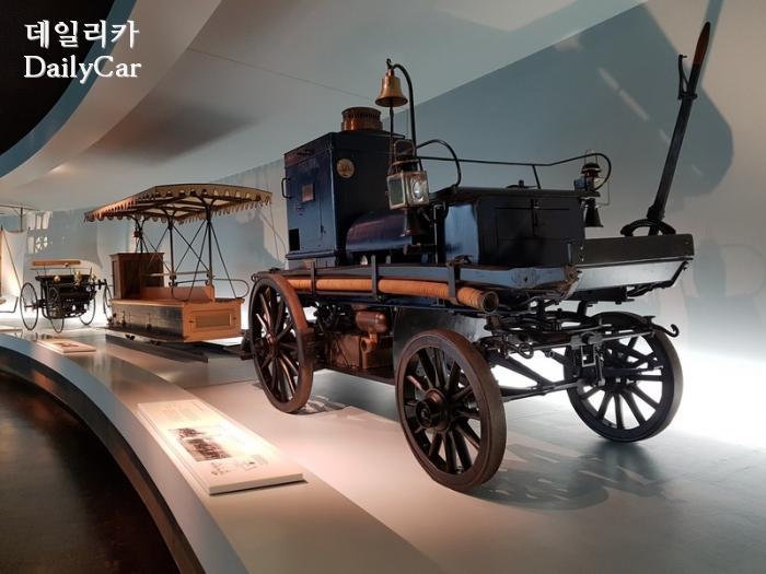 메르세데스-벤츠 박물관 (모터-프로이어스프리체 Feuerspritze. 1892)
