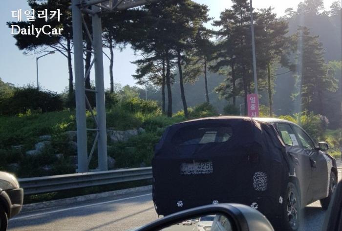현대차, 신형 투싼 시험주행차량 (제공: 데일리카 독자 석현호 씨)