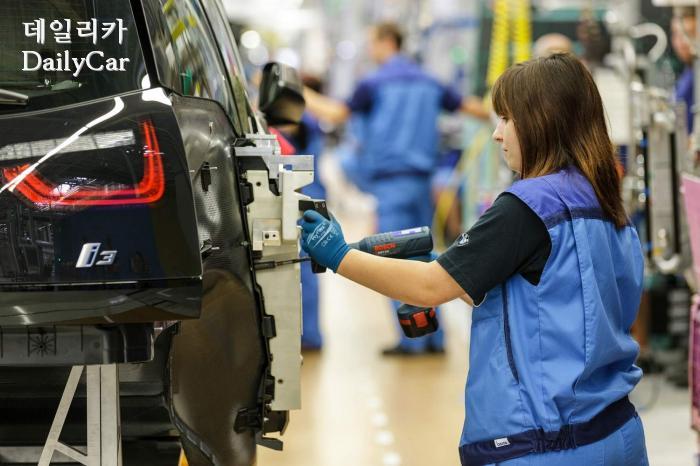 BMW i3 조립 라인(라이프치히 공장)