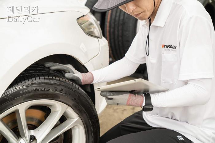 한국타이어앤테크놀로지, 타이어 안전점검
