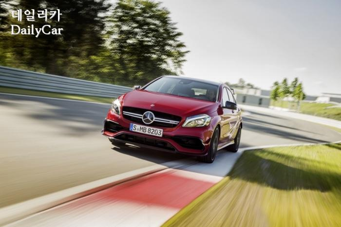 The new generation Mercedes-AMG A 45 4MATIC