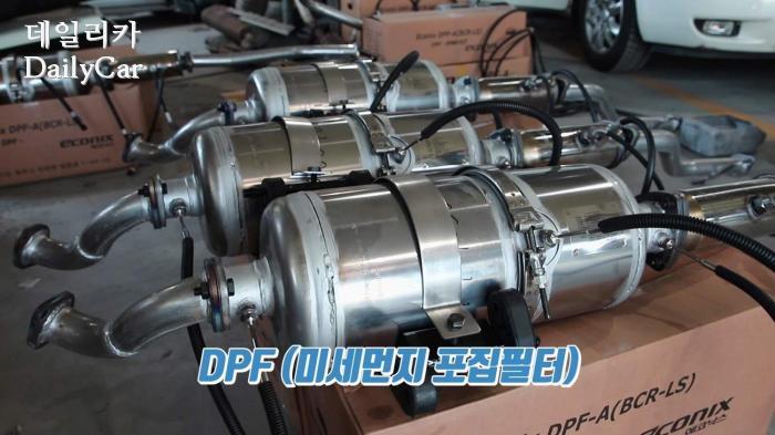 DPF(미세먼지포집필터)