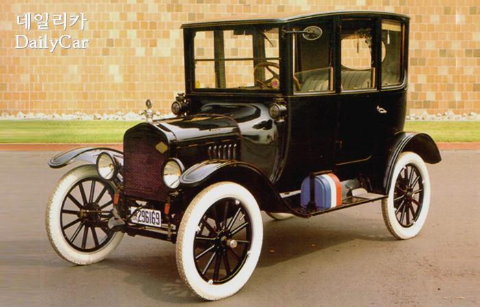 1921년에 만들어진 포드 모델 T