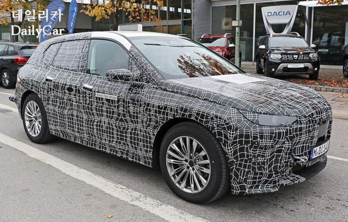 BMW, iX5 스파이샷 (출처 아우토빌트)