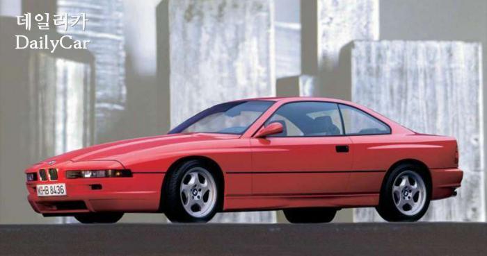 1989년에 나왔던 BMW 850 쿠페