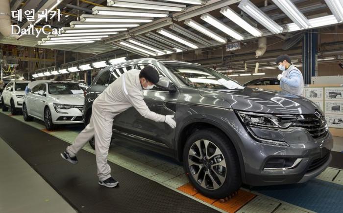 르노삼성, 부산공장(QM6 생산)