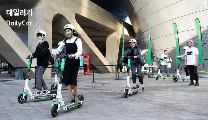 라임(Lime) 전동킥보드 공유 서비스, 동대문디자인플라자 퍼스트 라이드 서울(First Ride Seoul)