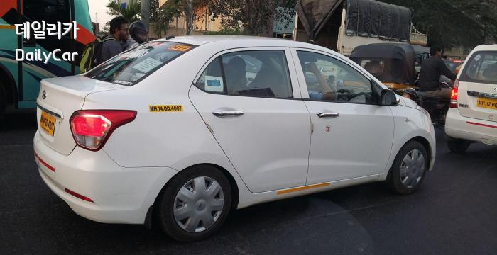 현대자동차의 인도 시장 전용 소형 세단 Xcent