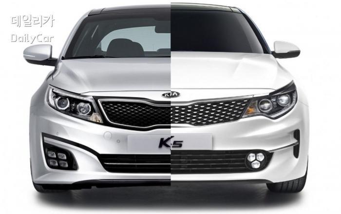 1세대 K5는 디자인 변화의 상징 이었음