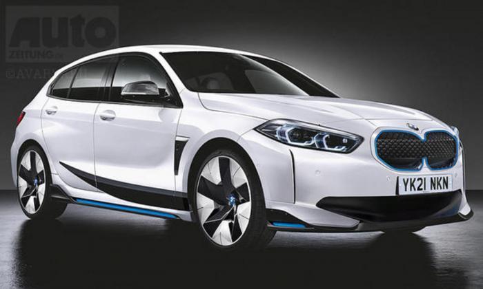 BMW, 1시리즈 전기차 예상도 (아우토자이퉁)
