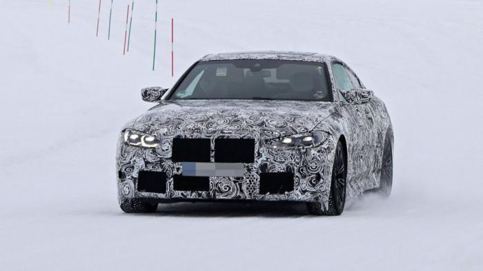 BMW M4 스파이샷 (사진 AMS)
