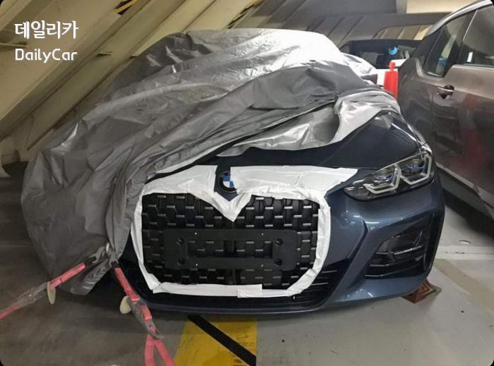 BMW 4시리즈 쿠페 스파이샷