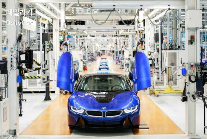 BMW i8의 생산이 종료됐다