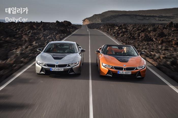 BMW, i8 로드스터&i8 쿠페