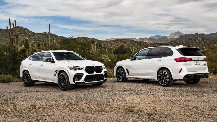 BMW X5 M, X6 M