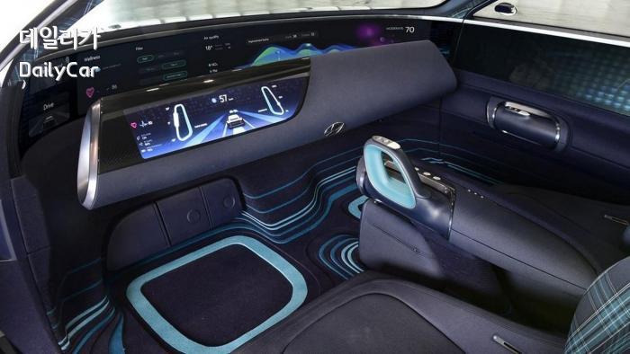 현대차 프로페시 콘셉트 (가변식 인스트루먼트 패널, 콘트롤러)