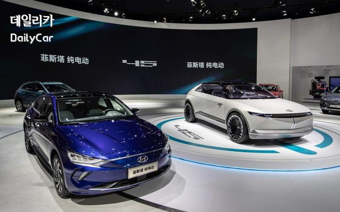 현대차, 라페스타 전기차 (2019 광저우모터쇼)