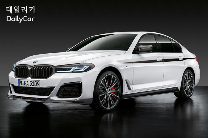 2021년형 BMW 5시리즈 세단