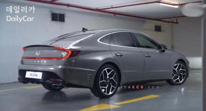쏘나타 N라인(사진 The Korean Car Blog)