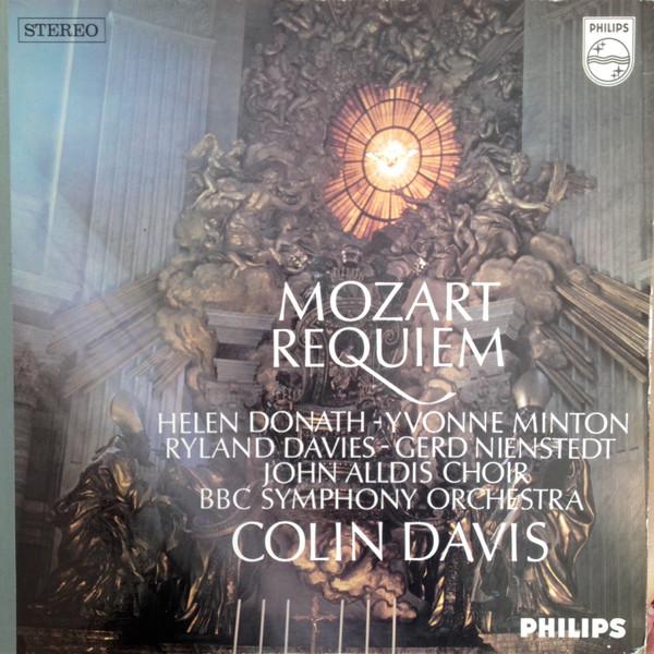 Mozart*, Colin Davis* - Requiem (1968, Gatefold hard back, Vinyl ...
