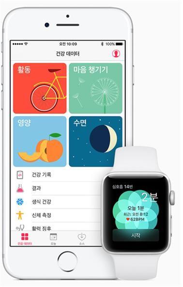 아이폰과 애플워치를 통한 건강관리