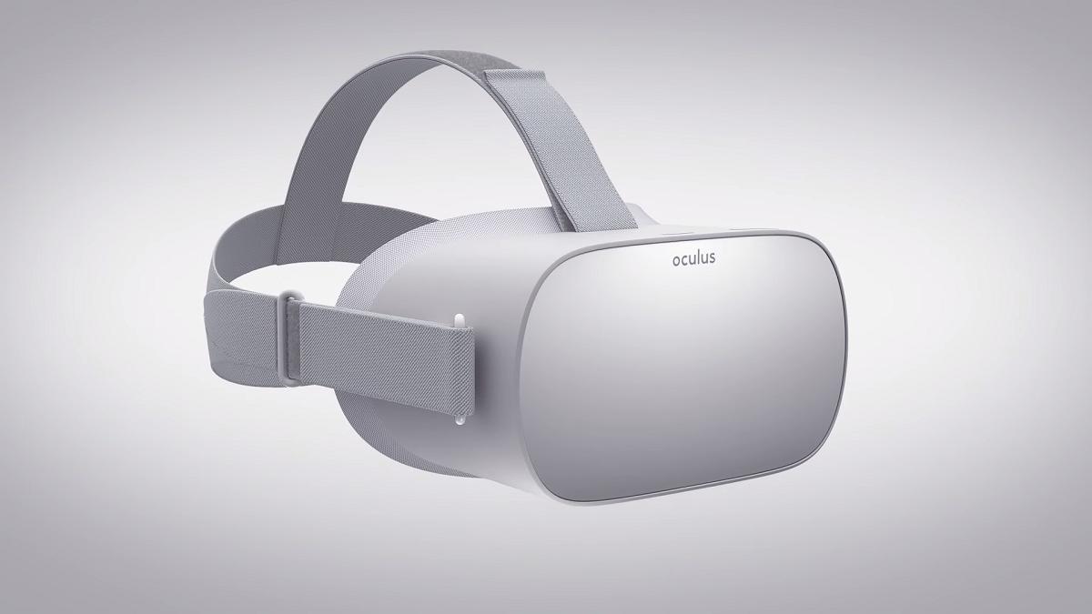 오큘러스의 독립형 VR 헤드셋 '오큘러스 고'