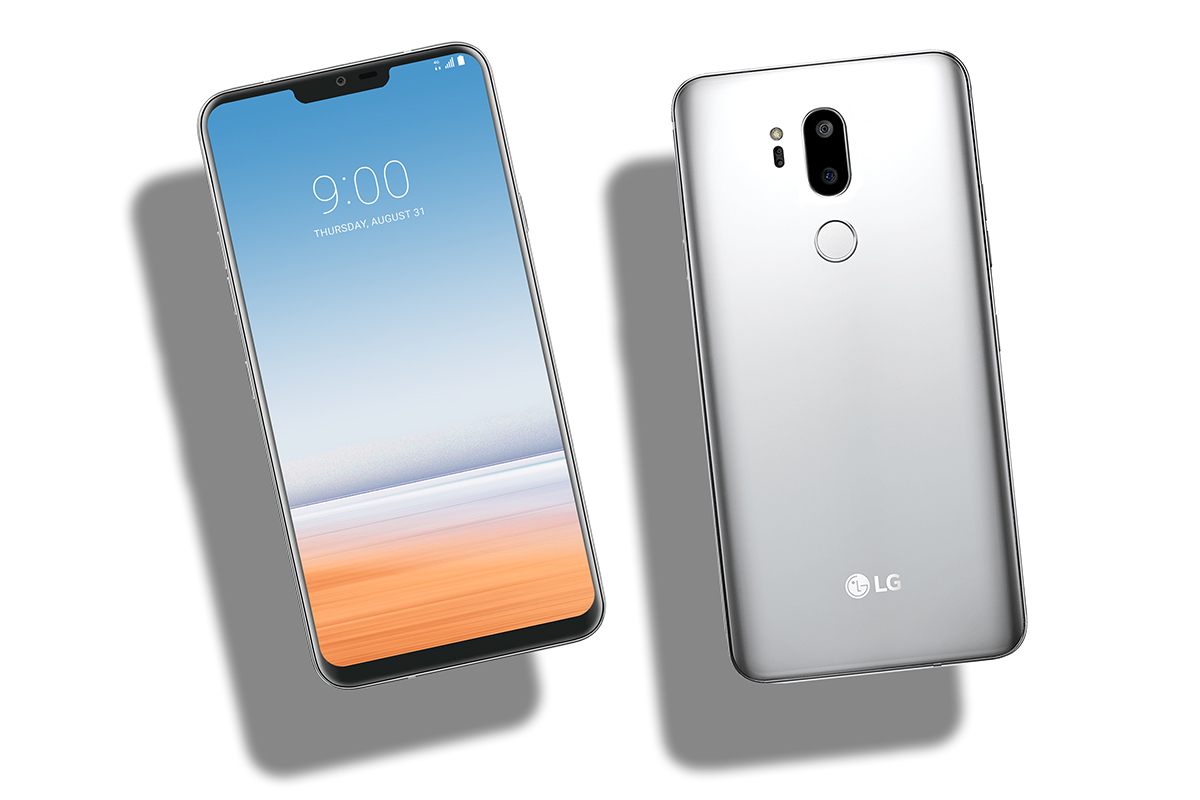LG G7 씽큐 콘셉트 디자인