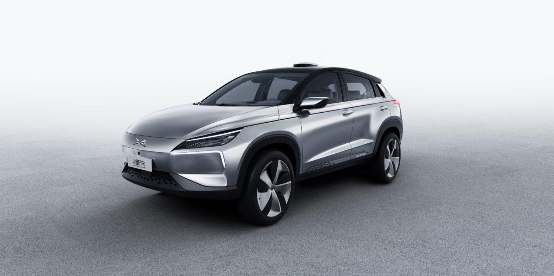샤오펑 모터스의 전기 SUV 프로토타입