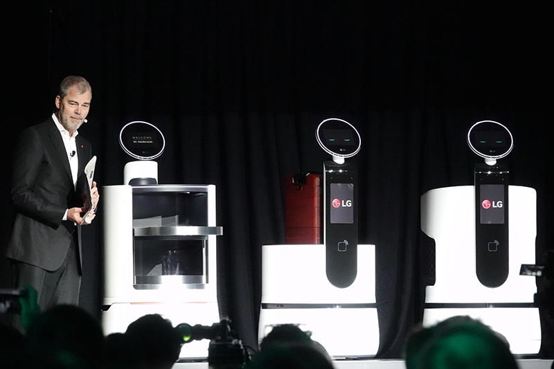 LG전자 상업용 로봇 제품군
